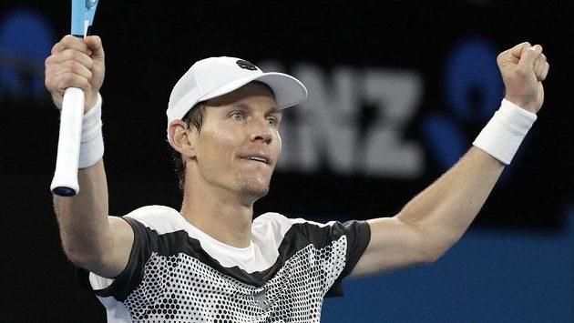 Tomáš Berdych na Australian Open. DC hrát nebude.