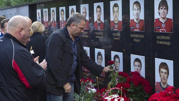 V Jaroslavli si znovu připomněli tragickou událost.