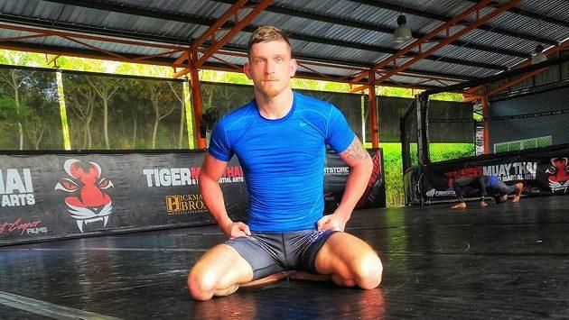 David Dvořák při tréninkovém kempu v Thajsku.