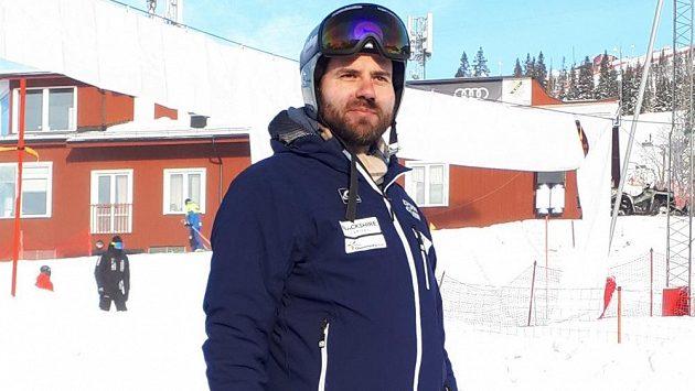 Bývalý kanadsko-český sjezdař Jan Hudec v dějišti mistrovství světa v alpském lyžování ve švédském Aare.
