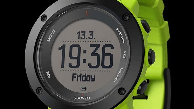 Suunto Ambit3 Vertical: Nové hodinky v limetkové barvě.