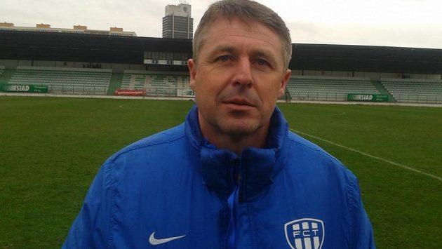 Radim Nečas, trenér fotbalistů Táborska.