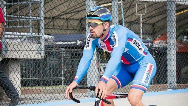 Česky cyklista Daniel Babor.