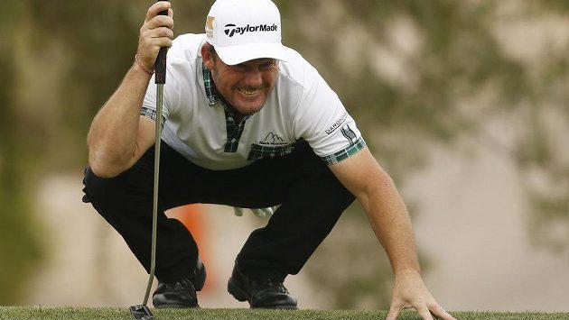 Alex Čejka na turnaji v Las Vegas.