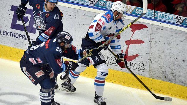 Marek Račuk (vpravo) míří do Znojma.