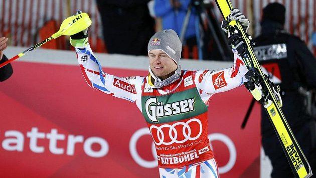 Alexis Pinturault vyhrál kombinaci v Kitzbühelu.