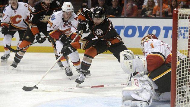 Útočník Anaheimu Ducks Andrew Cogliano je jedním z kandidátů na zisk trofeje Billa Mastertona za vytrvalost, sportovního ducha a oddanost hokeji.