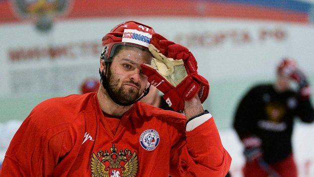 Útočník Alexander Radulov bude Rusům na Channel One Cupu chybět.