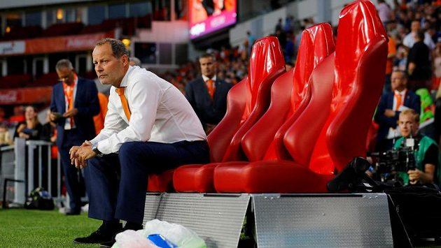 Zklamaný nizozemský trenér Danny Blind