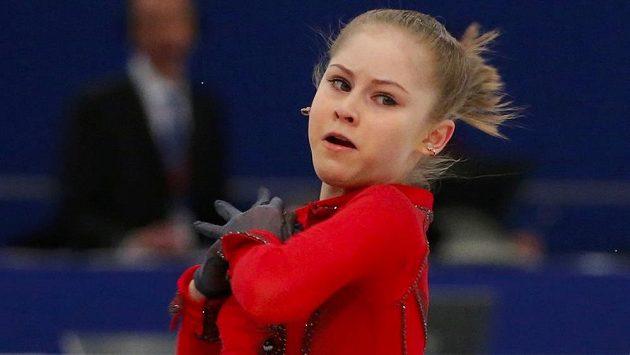 Krasobruslařka Julia Lipnická bude v Soči benjamínkem ruského týmu.