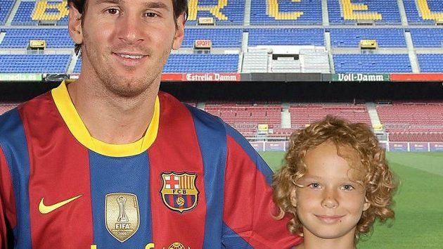 Leo Messi, velký Patrikův vzor...