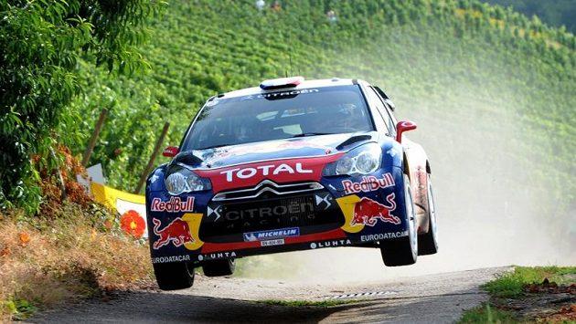 Sébastien Loeb na trati Německé rallye