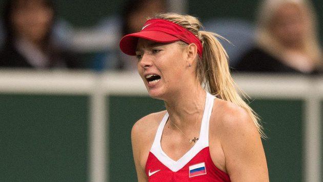 Hlasový projev na kurtu třeba v podání Marie Šarapovové šéfovi WTA nevadí.