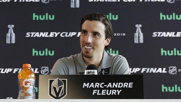 Marc-Andre Fleury na snímku z května.