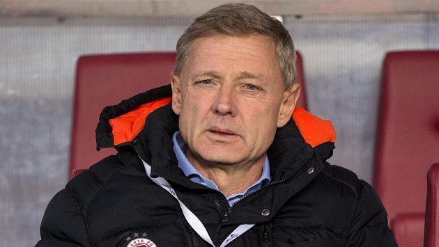 Sparťanský trenér Zdeněk Ščasný.
