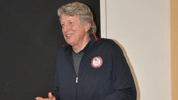 """Bývalý americký výškař Richard """"Dick"""" Fosbury."""