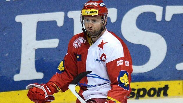 Jaroslav Bednář nosil kapitánské céčko ve Slavii už loňskou sezónu, když zaskakoval za zraněného Petra Kadlece.