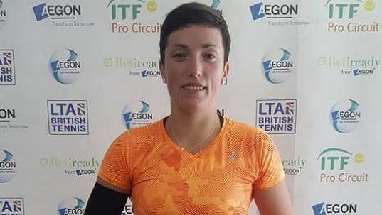 Tenistka Petra Krejsová.