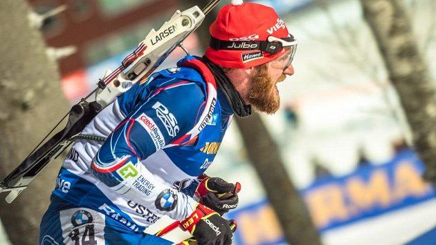 Michal Šlesingr byl z českých biatlonistů v Östersundu nejlepší - šestadvacátý.