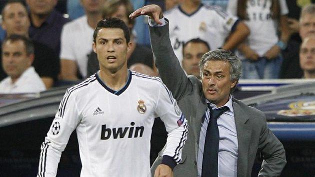 Cristiano Ronaldo potvrdil gólem výhru realu, takže Mourino mohl být s třemi body spokojen.