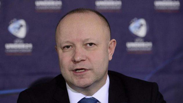 Petr Fousek, kandidát na funkci předsedy FAČR.