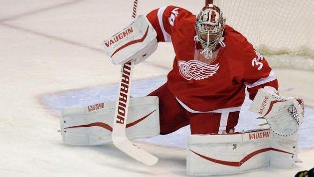 Vybuduje si Petr Mrázek pozici jedničky v Detroitu Red Wings?
