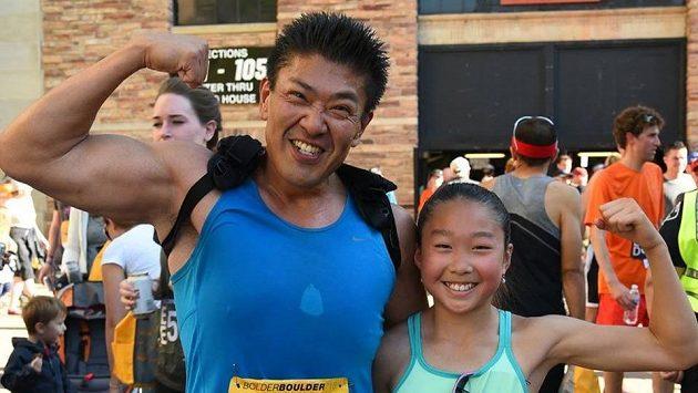 Jusuke Kirimoto bude se svou dcerou ještě dlouho.