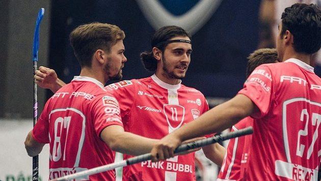 Florbalisté Chodova poprvé v nejvyšší soutěži ztratili body, prohráli ve Vítkovicích.
