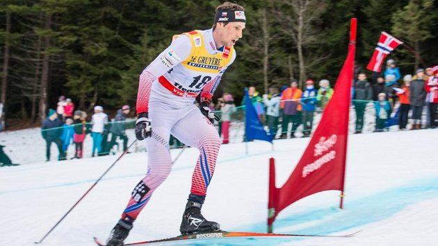 Martin Jakš v obávaném stoupání na sjezdovku Alpe Cermis - ilustrační foto.