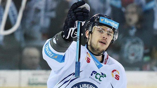 Autor úvodního gólu Martin Bakoš z Liberce.