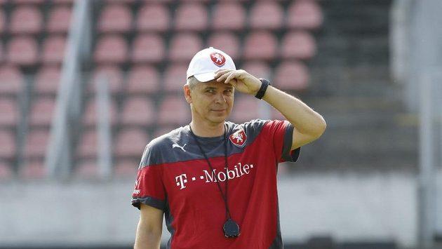 Vítězslav Lavička, trenér reprezentační jednadvacítky.