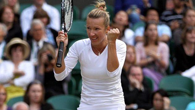 Česká tenistka Květa Peschkeová.
