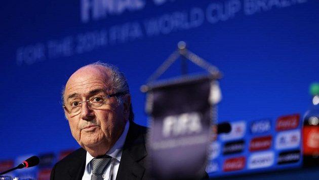 Šéf FIFA Sepp Blatter.