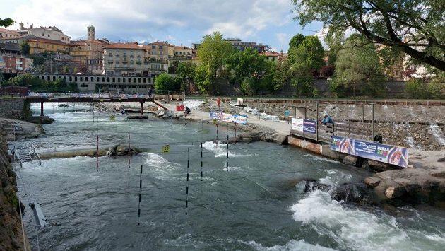 Letošní mistrovství Evropy ve vodním slalomu se koná v italské Ivree.