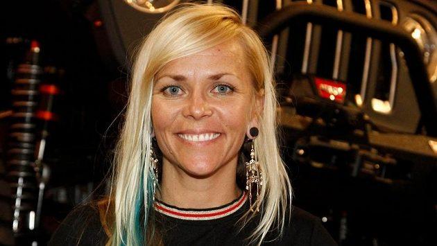 Tragicky zesnulá americká závodnice Jessi Combsová na archivním snímku z roku 2018.