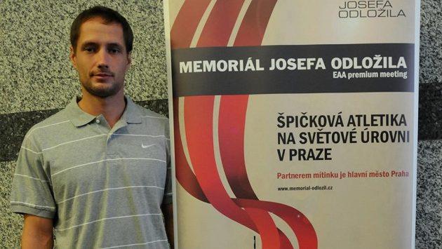Oštěpař Vítězslav Veselý bude jednou z hvězd Memoriálu Josefa Odložila.