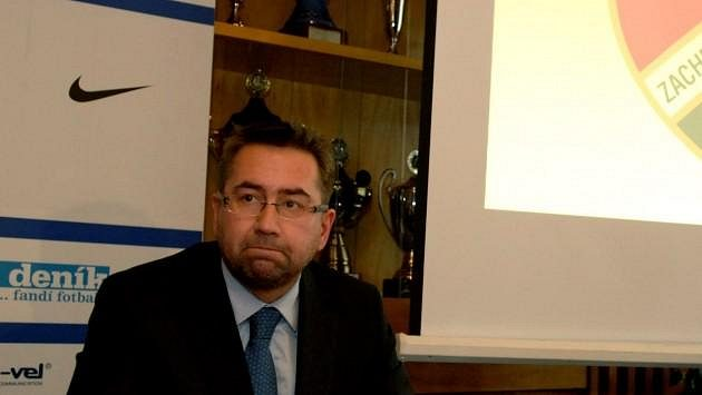 Petr Šafarčík, předseda představenstva FC Baník Ostrava, na archivním snímku.