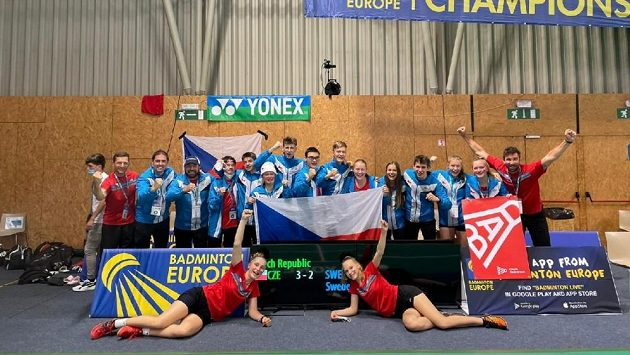 Česká badmintonová reprezentace do 17 let vybojovala bronzové medaile na mistrovství Evropy.