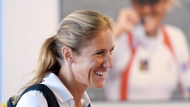 Miroslava Knapková před mistrovstvím světa ve veslování ve francouzském Aiguebelette.