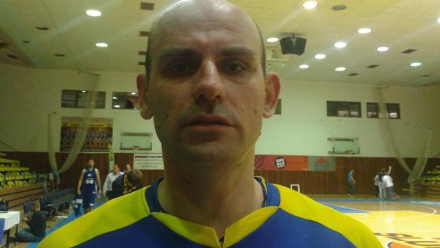 Basketbalista Admir Alič.