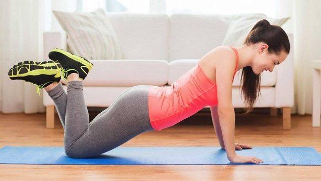 Cvičte doma jen s vlastní vahou.