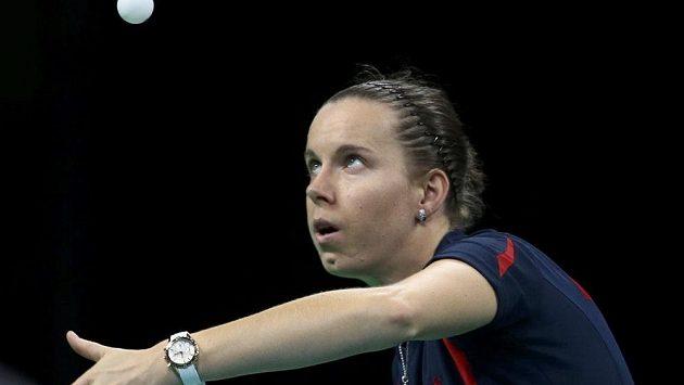 Česká stolní tenistka Iveta Vacenovská.