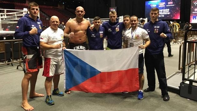 Česká reprezentace na mistrovství světa v Macau.