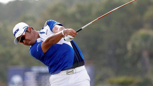 Golfista Hideki Macujama.