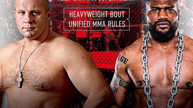 Těžké váhy Rus Fedor Jemeljaněnko a Američan Quinton Jackson se to rozdají 29. prosince v Tokiu.