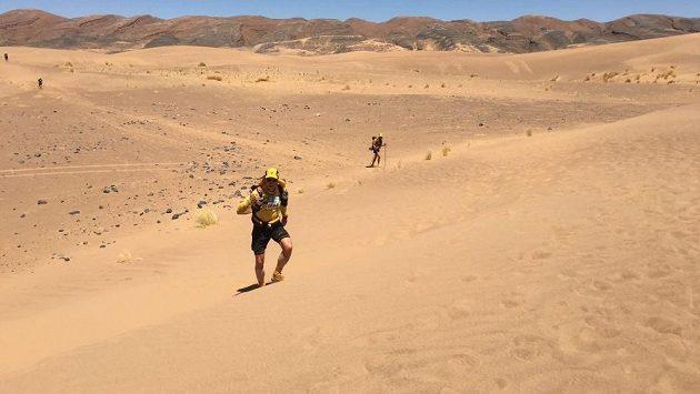Petr Vabroušek při Marathon des Sables.
