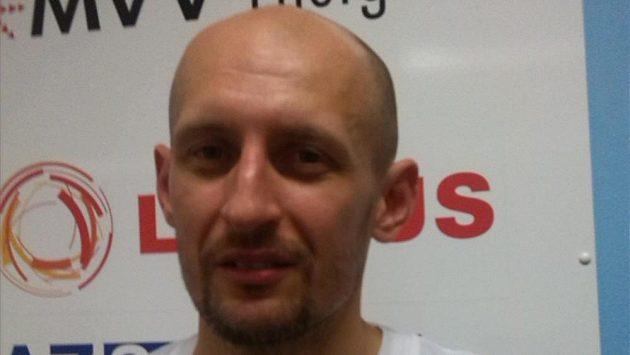 Kapitán české basketbalové reprezentace Luboš Bartoň.
