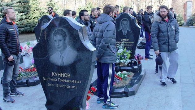 Hokejisté Lva zavzpomínali na oběti letecké katastrofy v Jaroslavli.