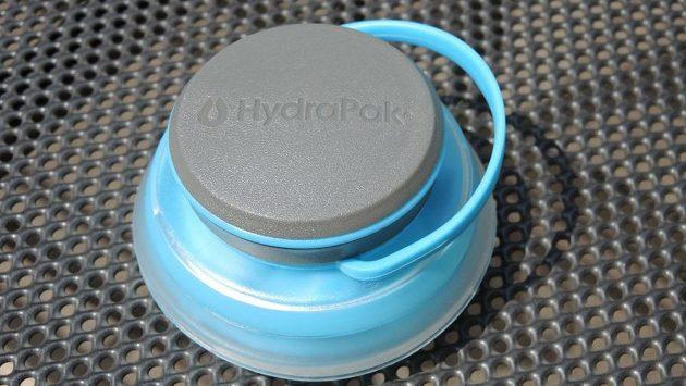 Sbalitelná láhev HydraPak Stash 1l - na sbalený puk budete zírat jako puk.
