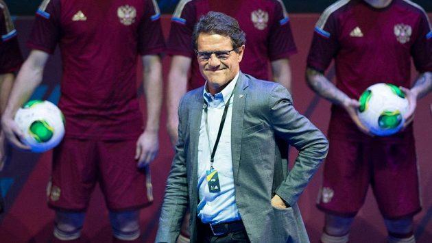 Trenér ruských fotbalistů Fabio Capello.